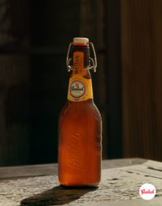 Sam Wright Grolsch German Bottle Portrait Logo